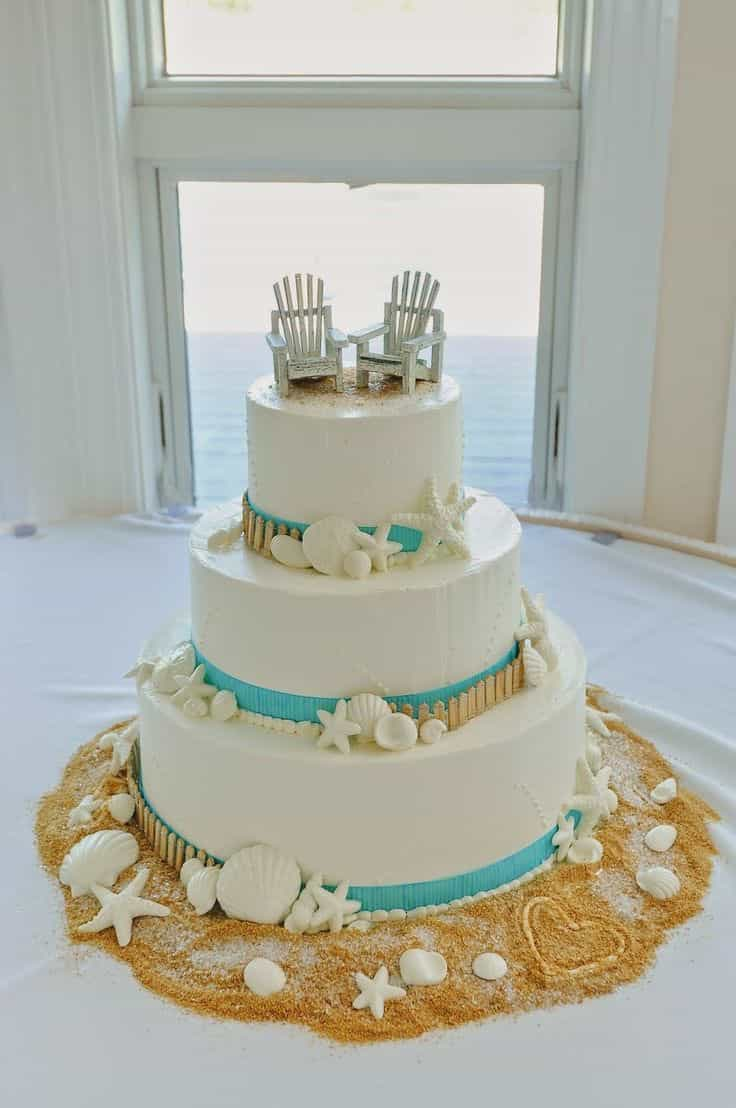 seaside wedding cakes wedding ideas of scrumptious seaside wedding cakes 11 19717