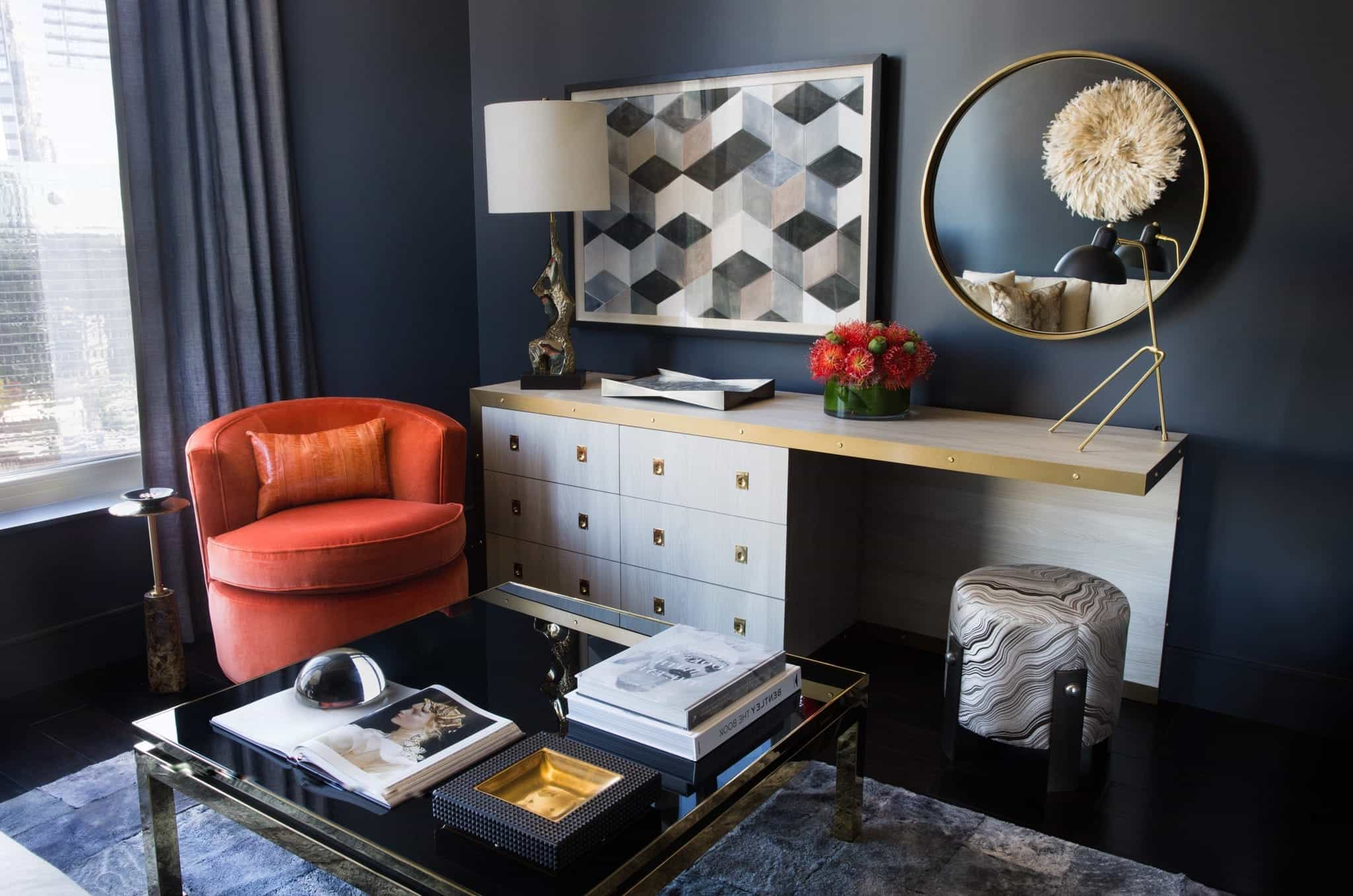 Chic Coffee Table In Atlanta Condo (Image 8 of 32)