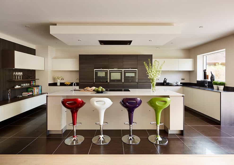Colorful And Futuristic Modern Kitchen Bar Stools (Image 2 of 15)