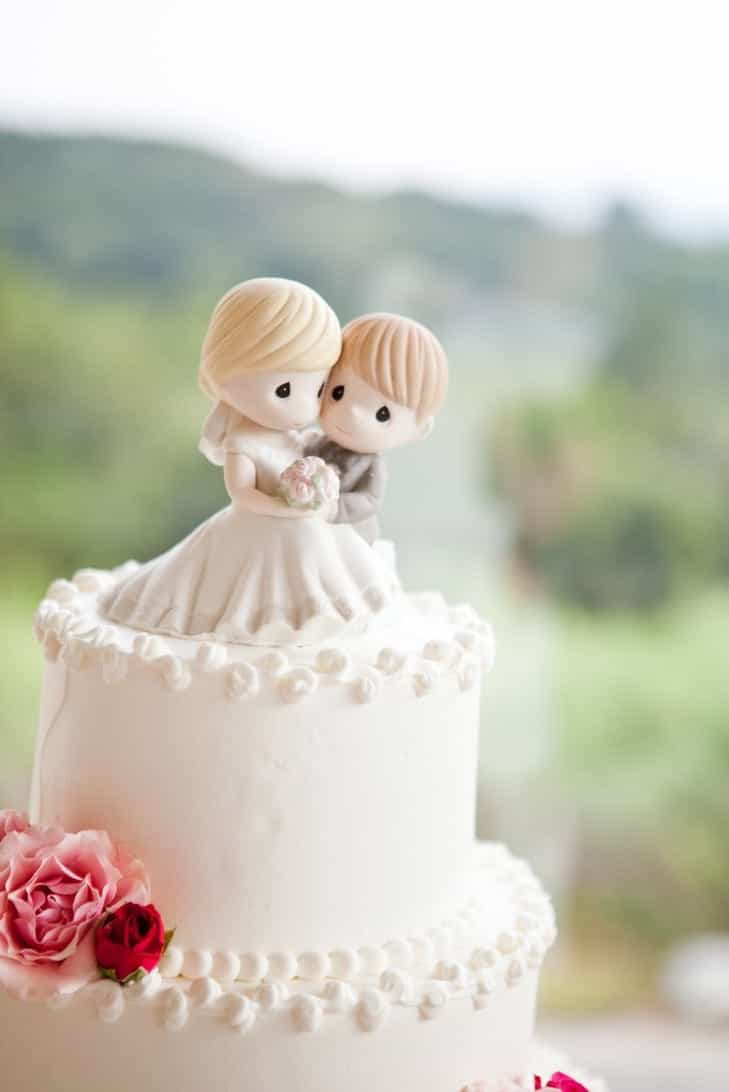 Cute Bride And Groom Wedding Cake Topper (Image 3 of 10)