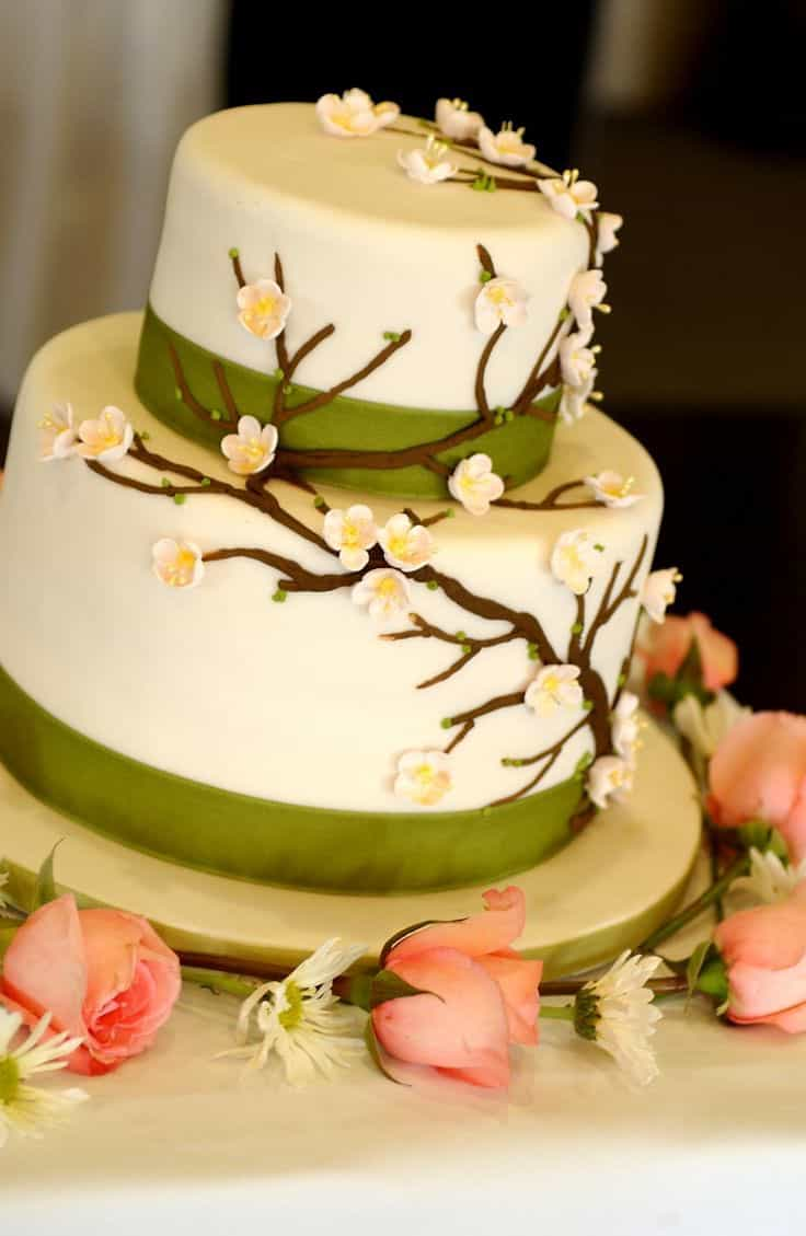 Forest Inspired Wedding Cakes Ideas (Image 1 of 5)