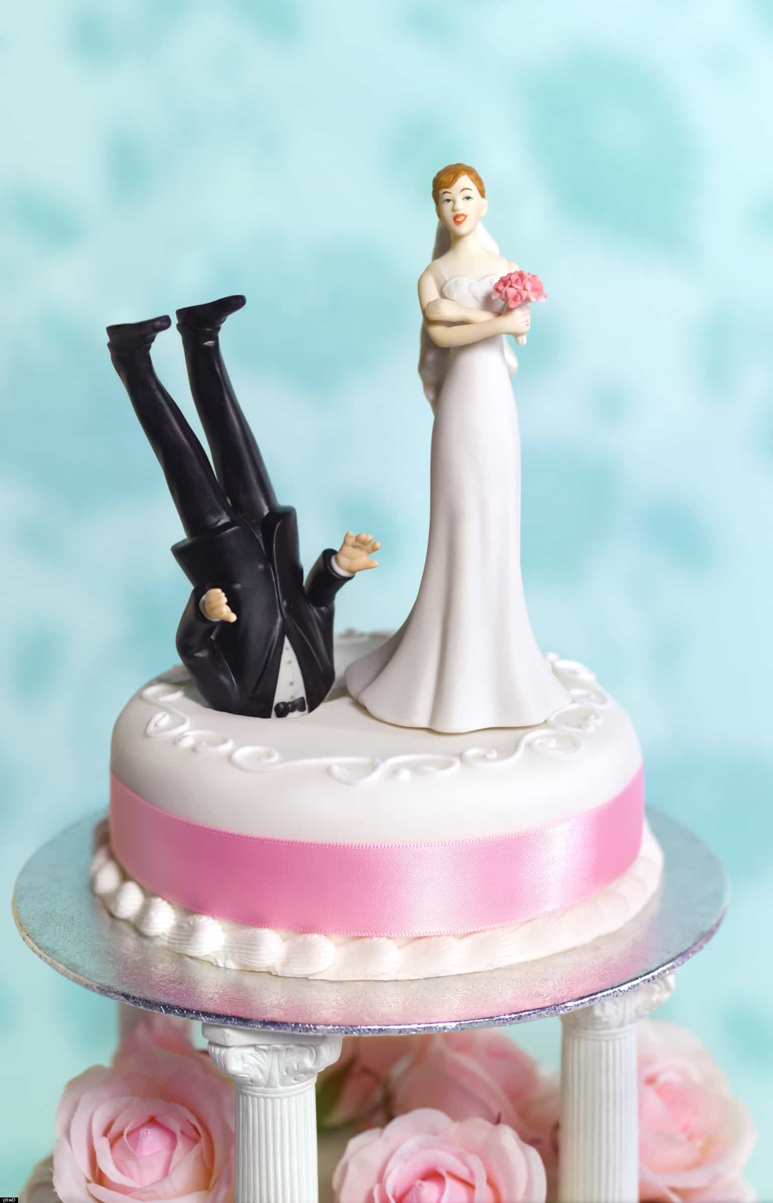 Funny Wedding Cake Topper (Image 5 of 10)