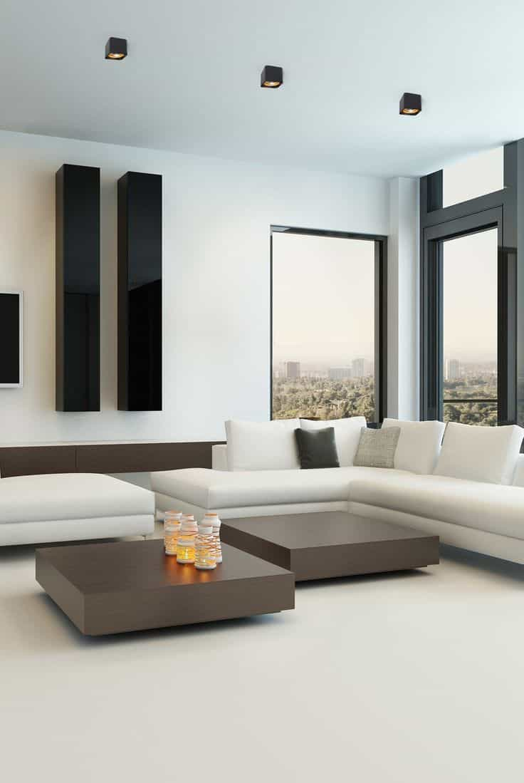 Minimalist Apartment Living Room (Image 15 of 20)