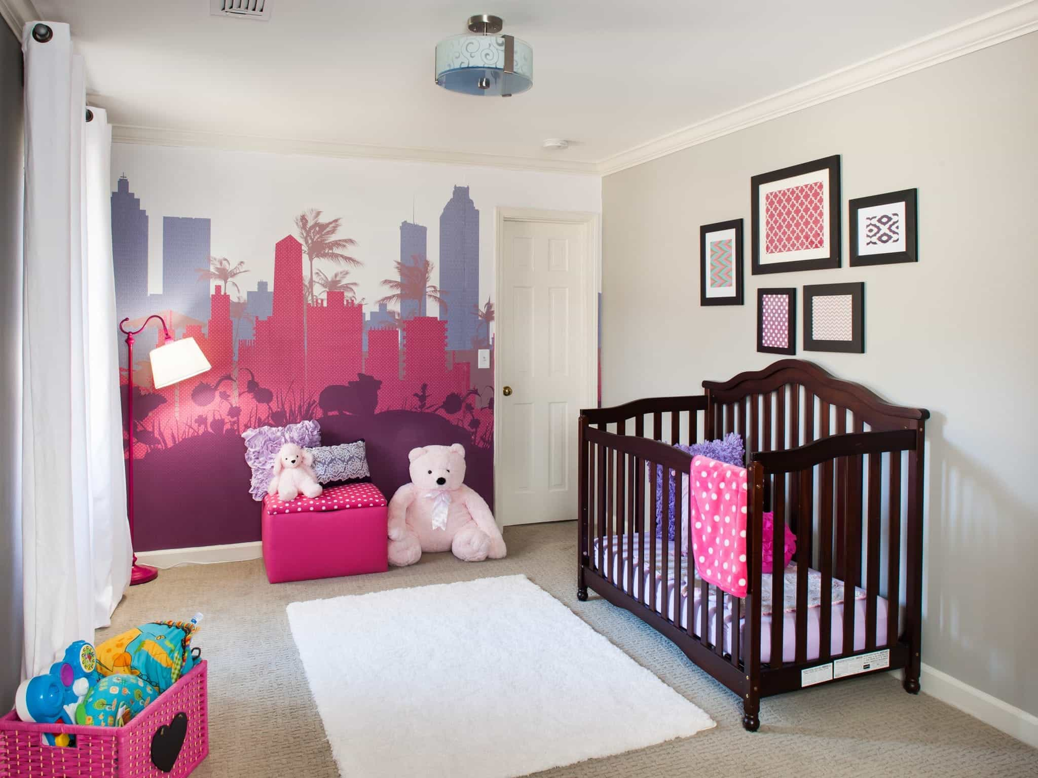 Minimalist City Girl Nursery Baby Room Decor (Image 14 of 33)
