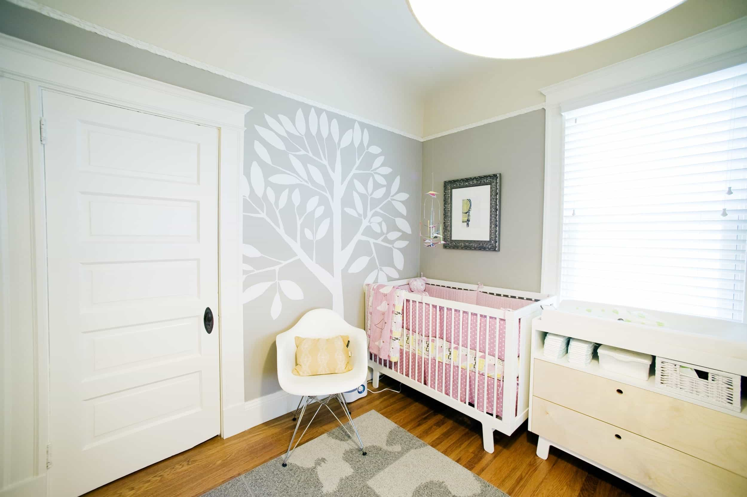 Modern Nursery With Adorable Girl Centric Decor (Image 20 of 33)