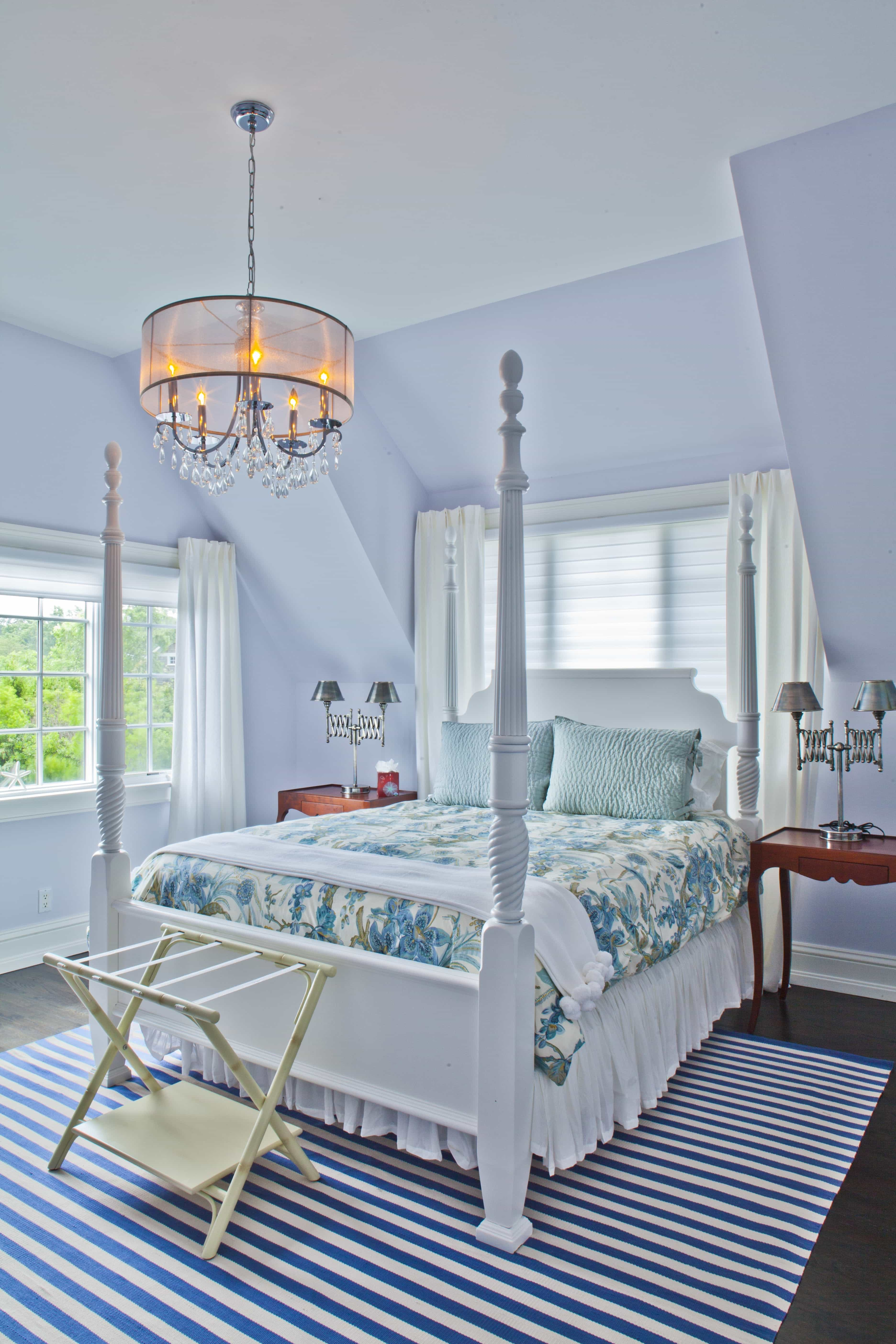 Pastel Bedroom Decor Boasts Fun Patterns And Traditional Touches (Image 21 of 28)