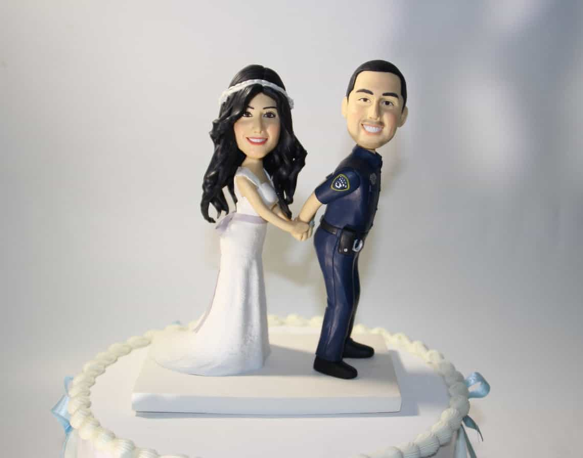 Police Wedding Cake Topper (Image 8 of 10)