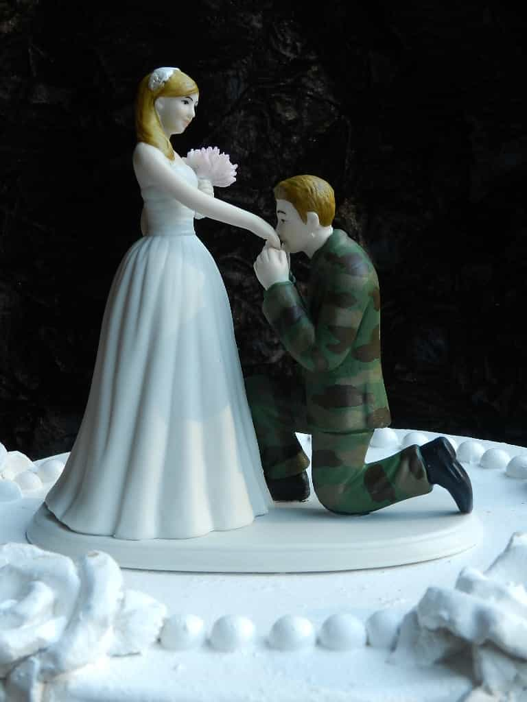 Romantic Wedding Cake Topper (Image 9 of 10)