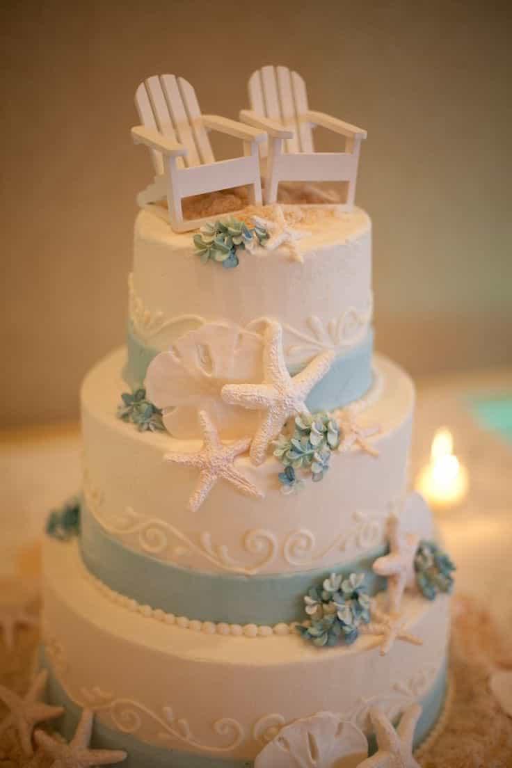 Scrumptious Seaside Groom's Cakes (Image 9 of 13)