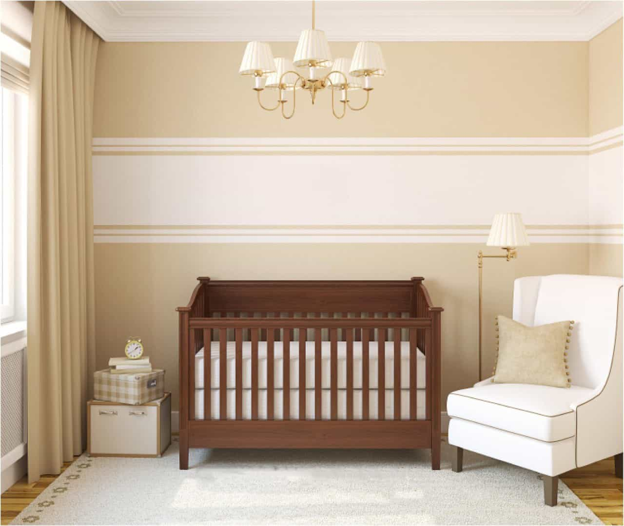 Simply Minimalist Nursery Bedroom (Image 8 of 9)