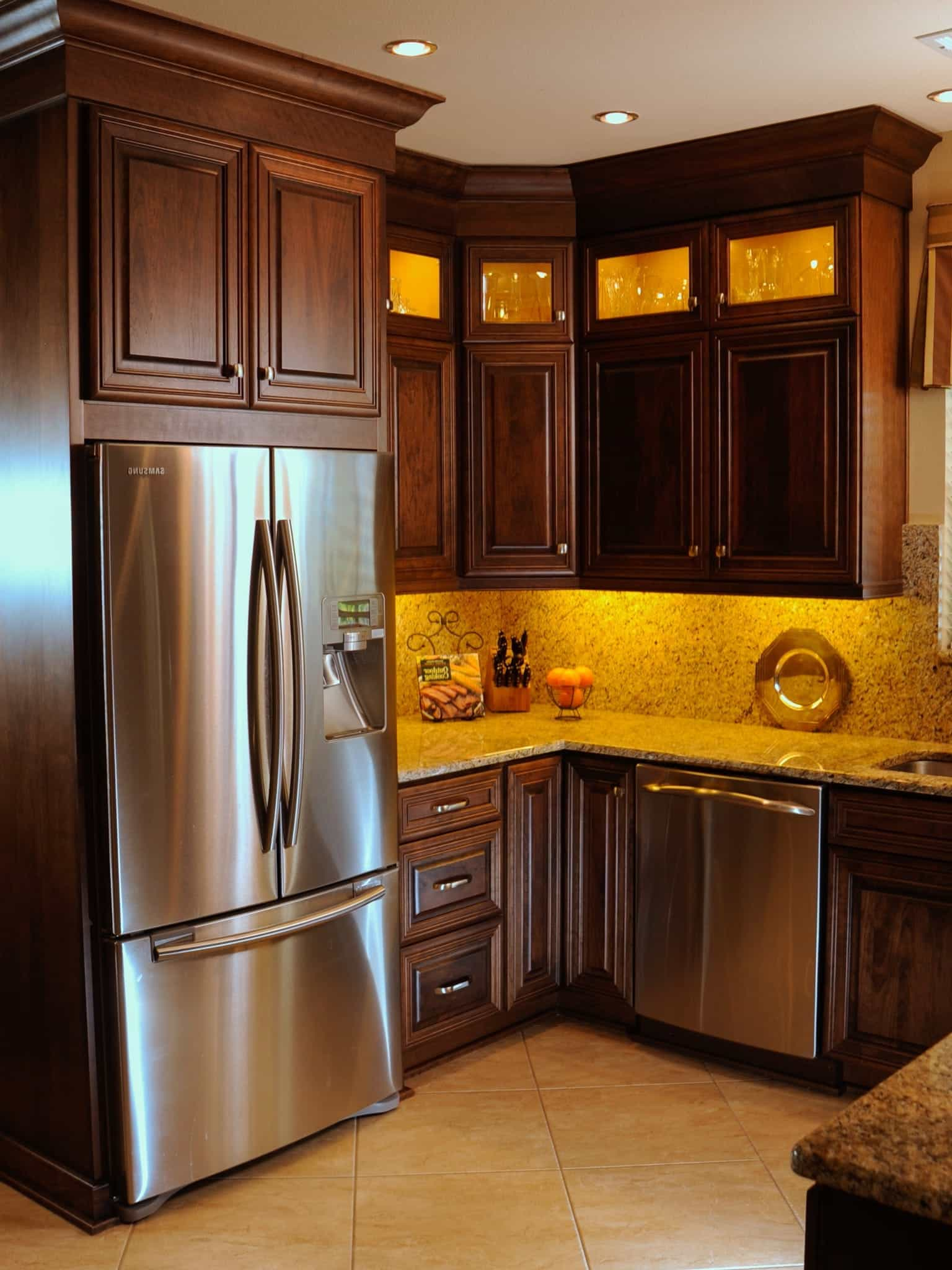 Kitchen Functional Kitchen Cabinets Design And Layout 5