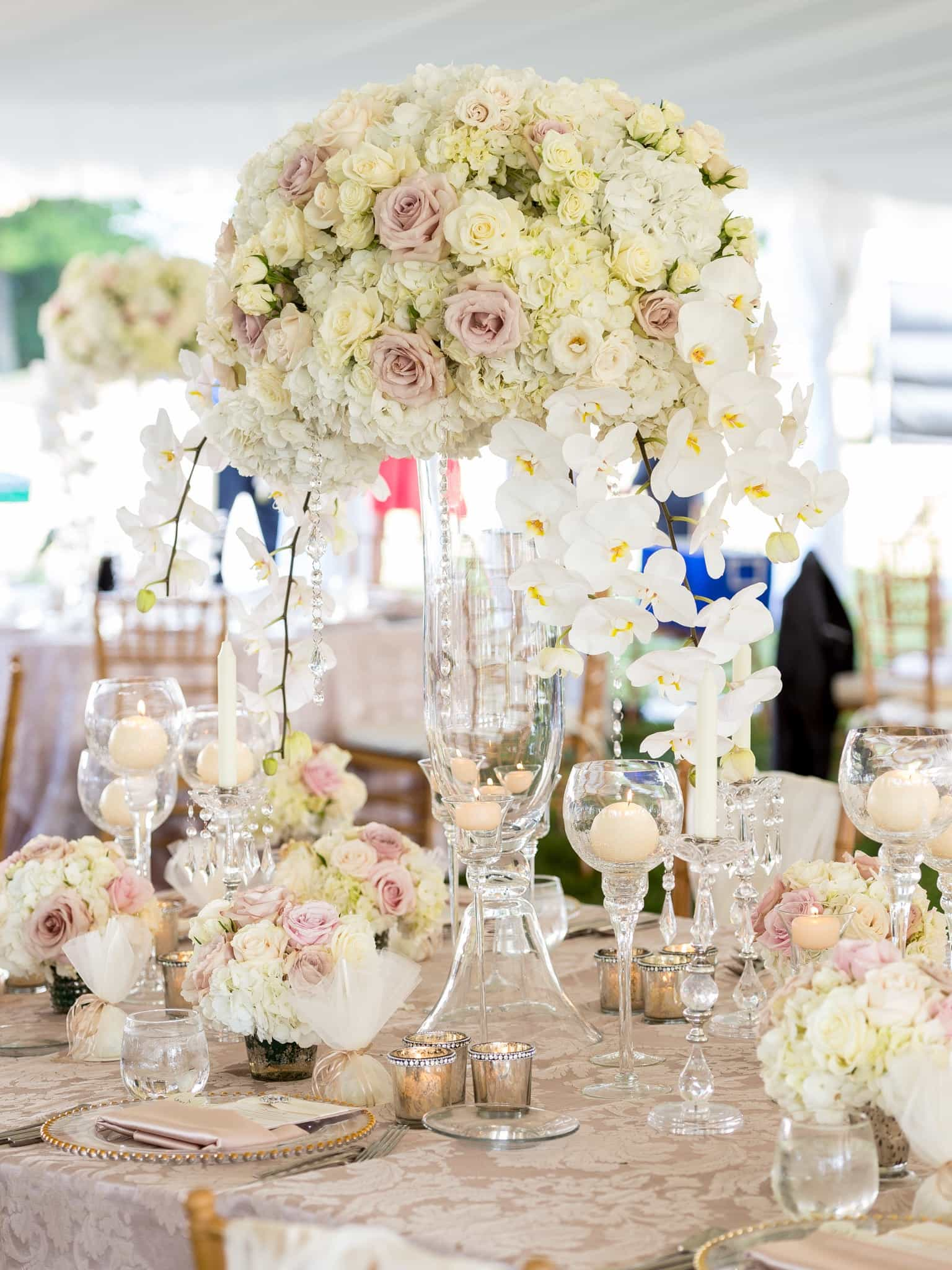 How To Choose The Right Wedding Centerpieces For Round Table? #1122 ...