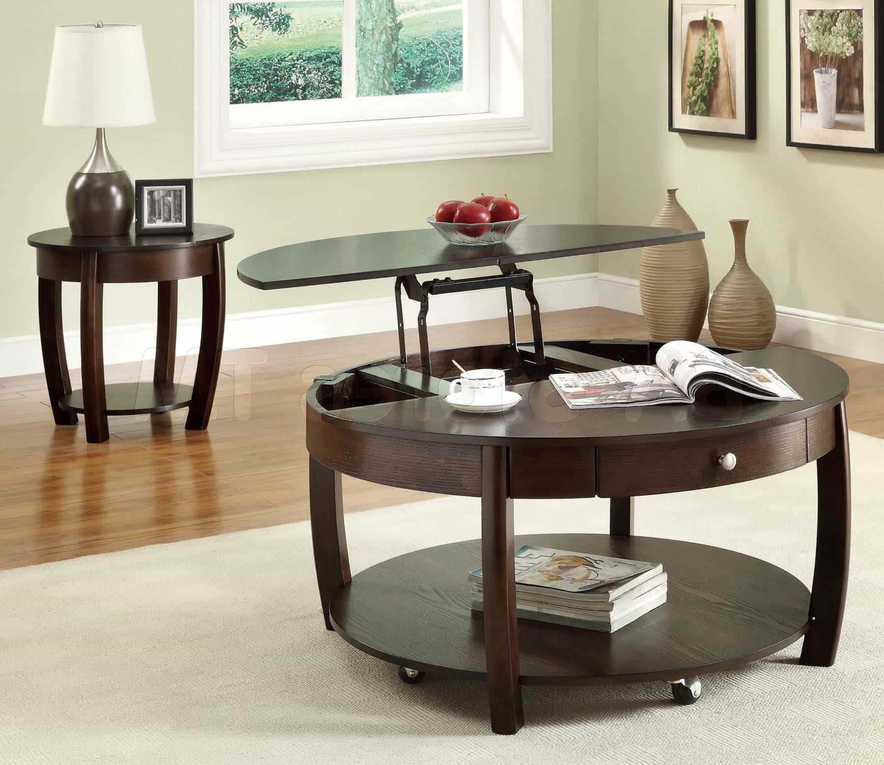 Art Deco Coffee Table Furniture Set (Image 1 of 30)