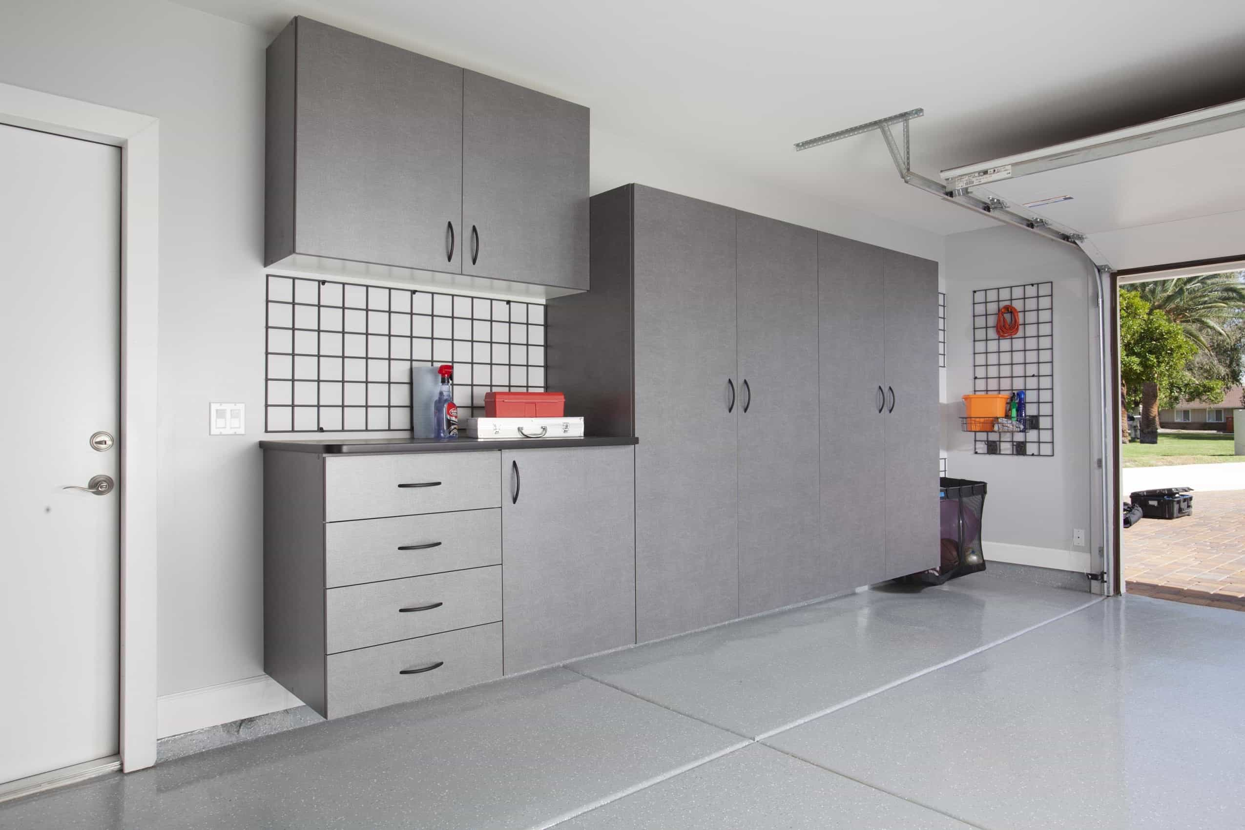 Contemporary Flat Panel Garage Shelves And Storages (View 8 of 10)
