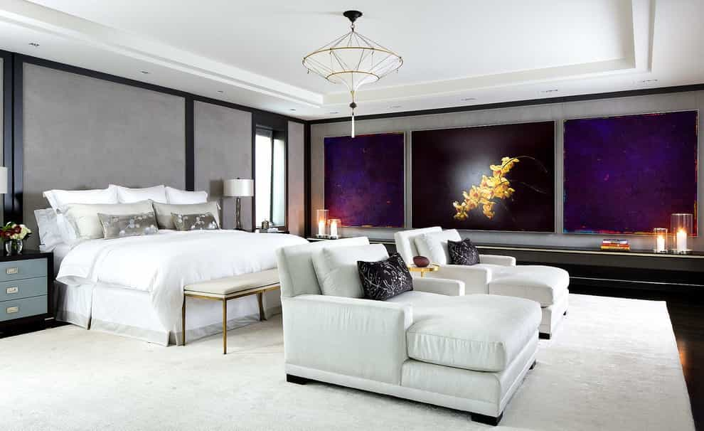 contemporary luxury bedroom lounge chairs image 10 of 22 - Lounge Bedroom Ideas