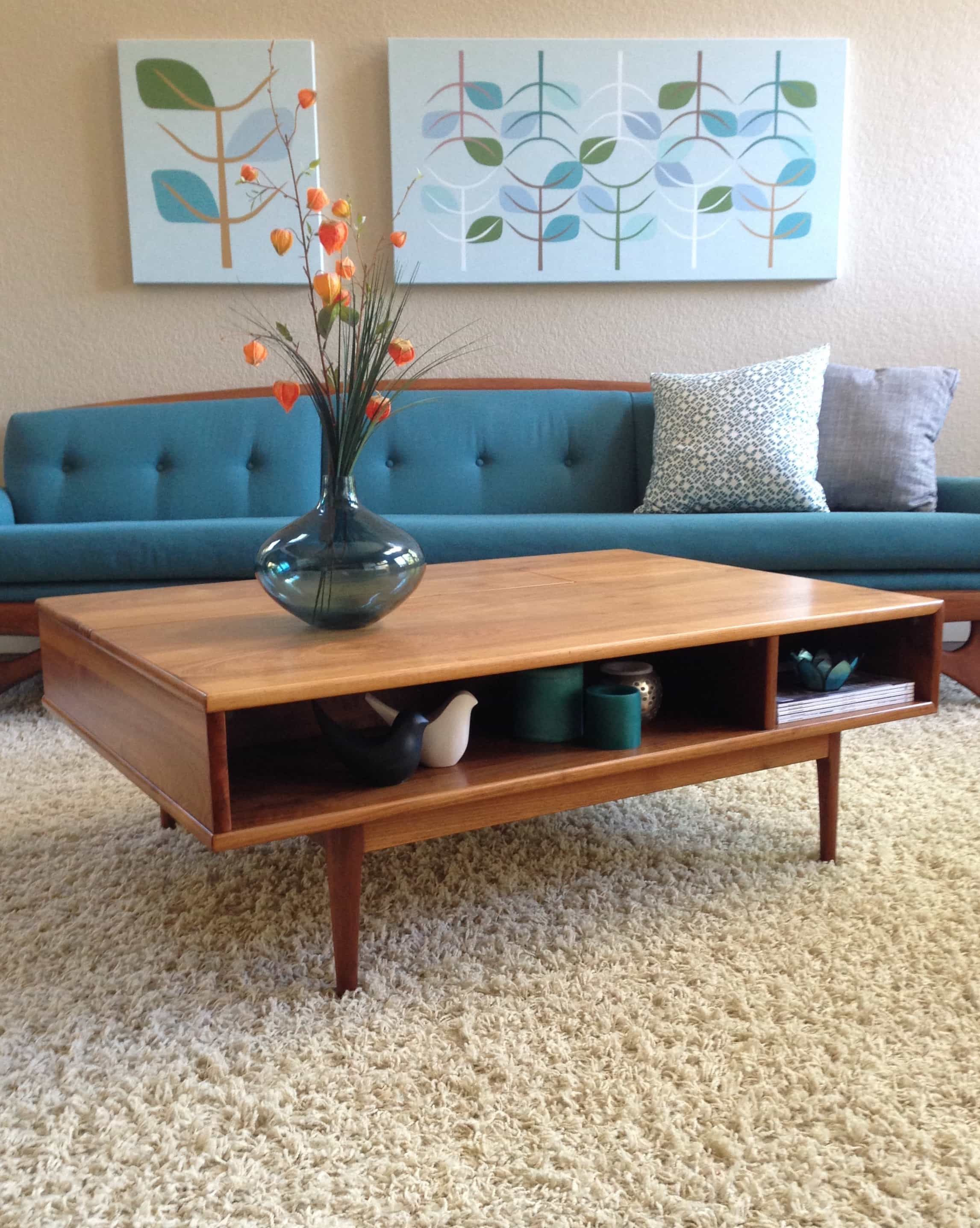 Mid Century Modern Coffee Table (Image 14 of 30)