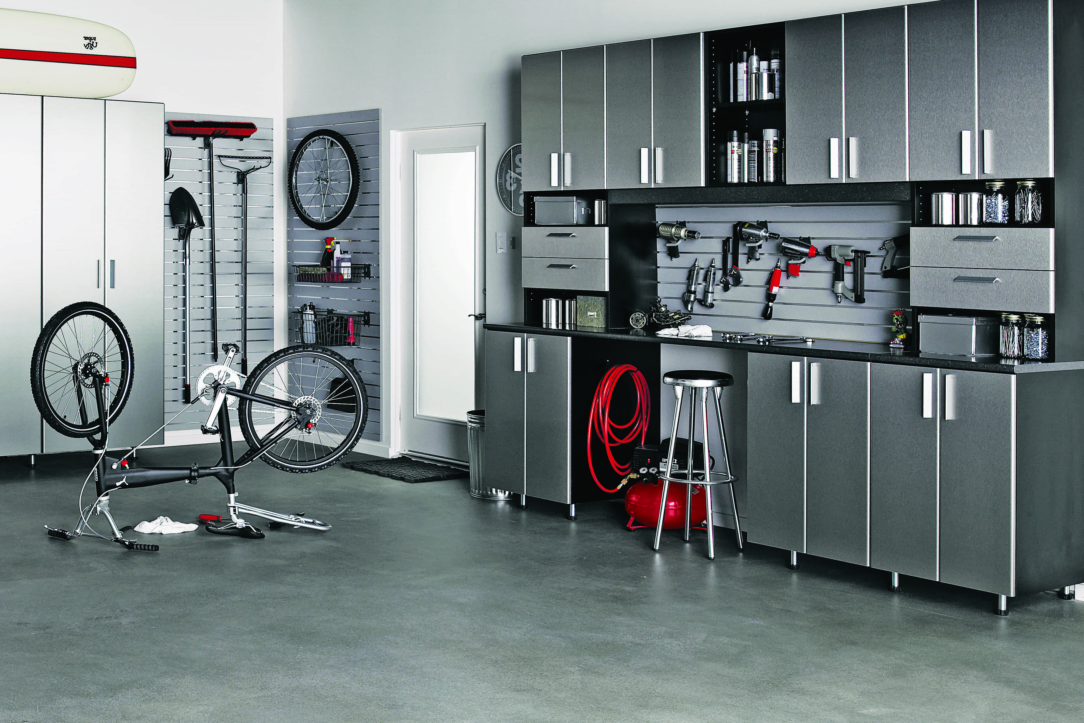 Modern Interior Garage Storage And Organization (Image 8 of 10)
