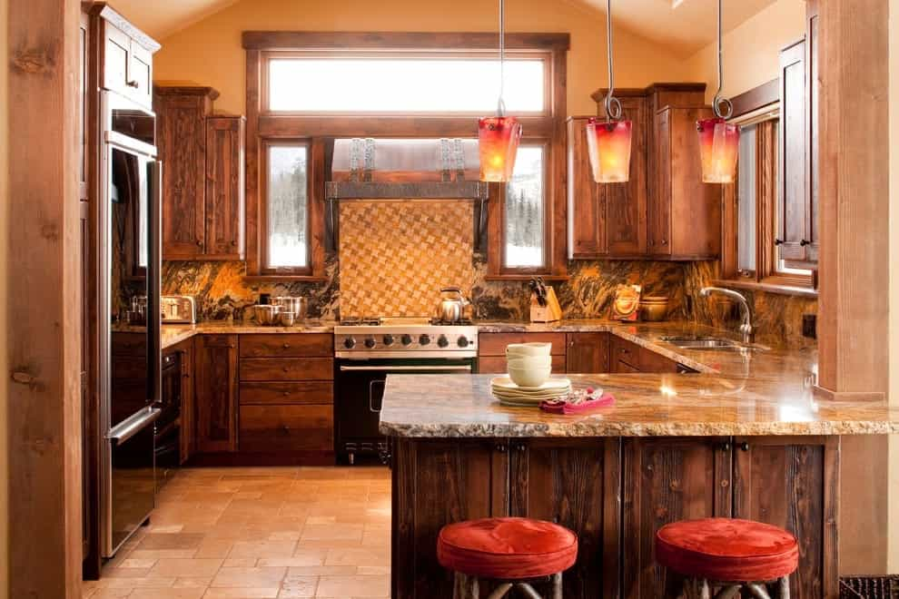 Rustic African American Kitchen Interior (View 5 of 10)
