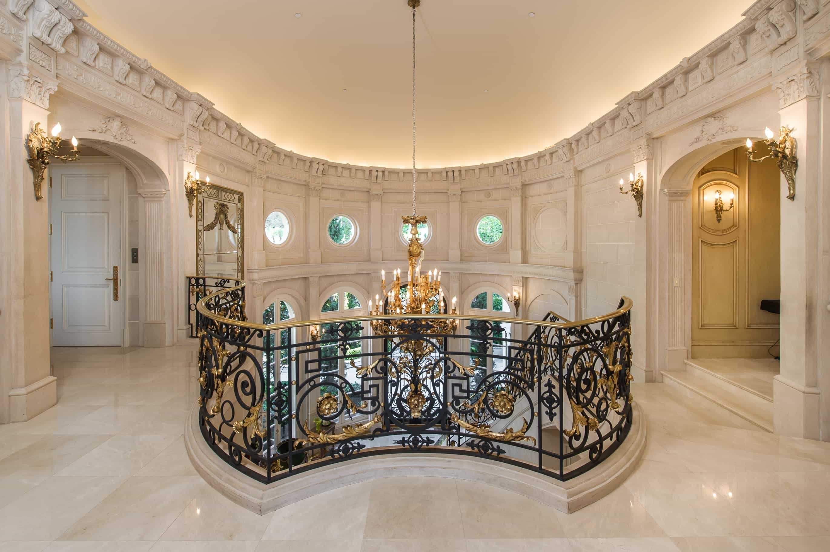 Stunning Classic European Interior With Marble Flooring (Photo 3 of 13)
