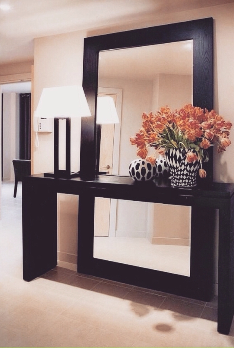 10 Amazing Modern Interior Design Mirrors For Your Living Room For Large Hallway Mirror (Image 1 of 15)