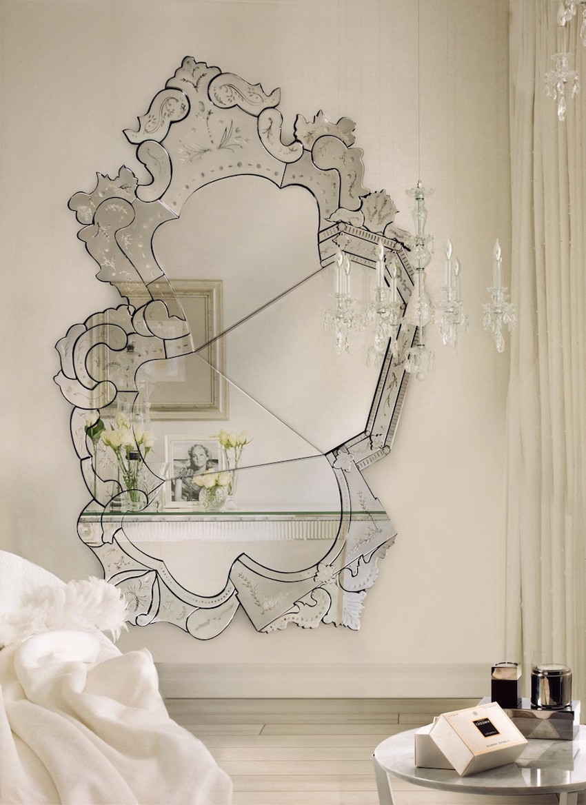 10 Astounding Venetian Mirror Ideas To Inspire You In Venetian Wall Mirror (Image 1 of 15)