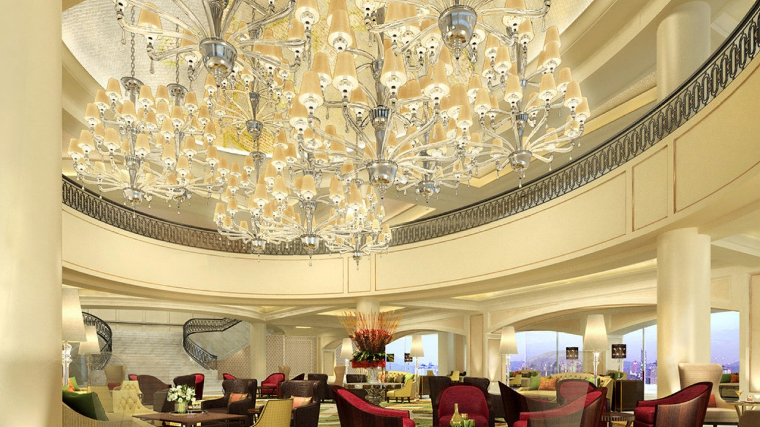 10 Beautiful Chandeliers For A Hotel Design In Hotel Chandelier (Image 1 of 15)
