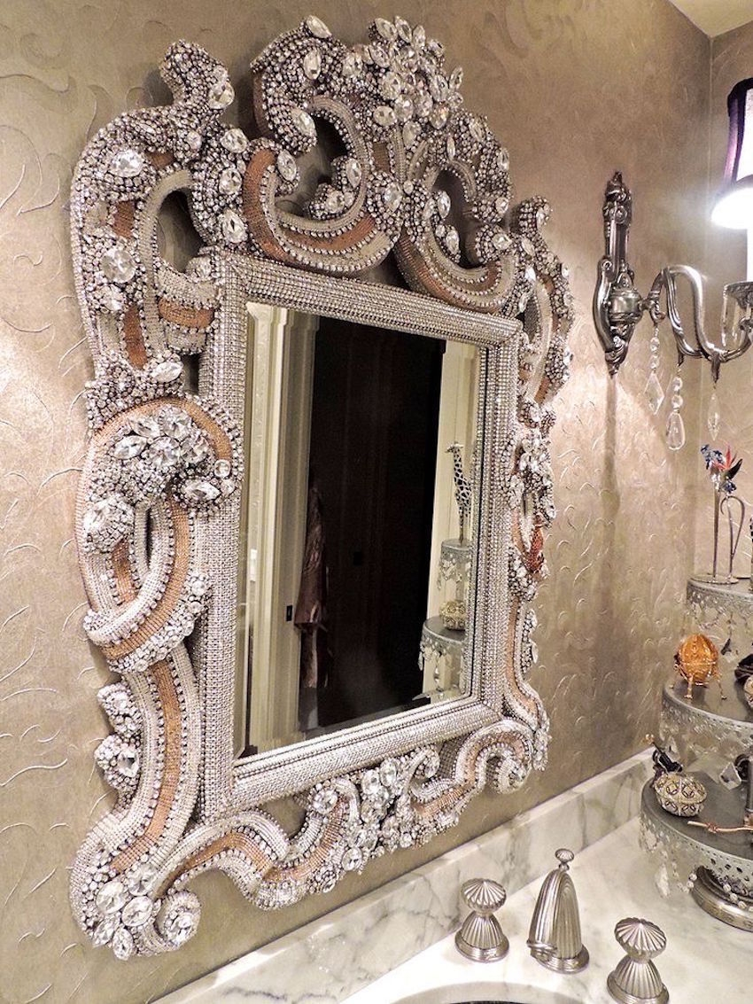 10 Stunning Unique Mirrors To Enhance Your Home Decor Seasons Intended For Elaborate Mirrors (Image 1 of 15)