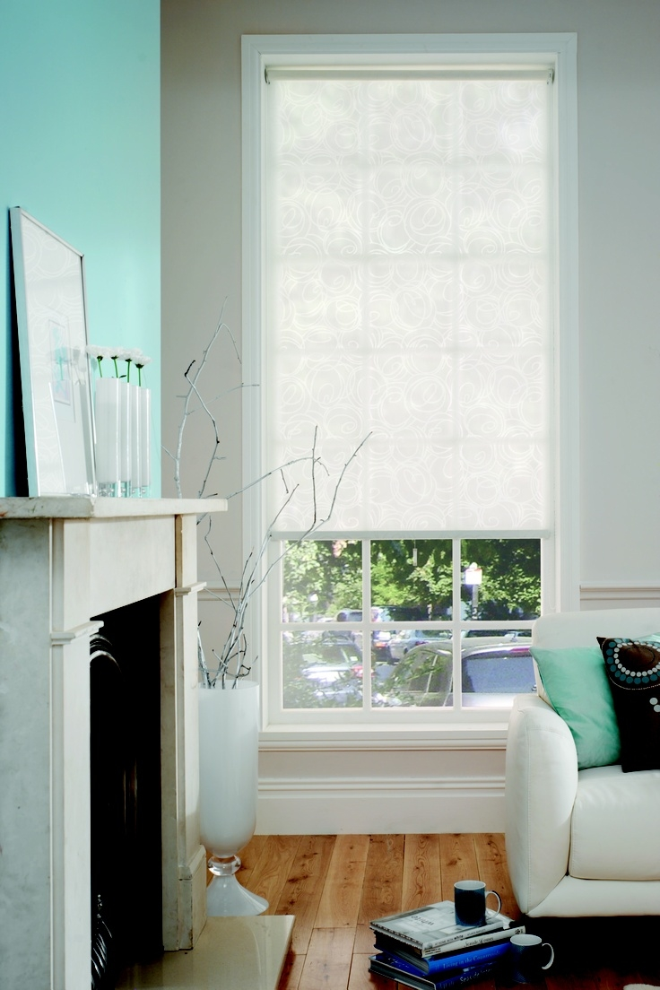 100 Best Images About Roller Blinds On Pinterest Shab Chic With Plain Roller Blinds (Image 1 of 15)