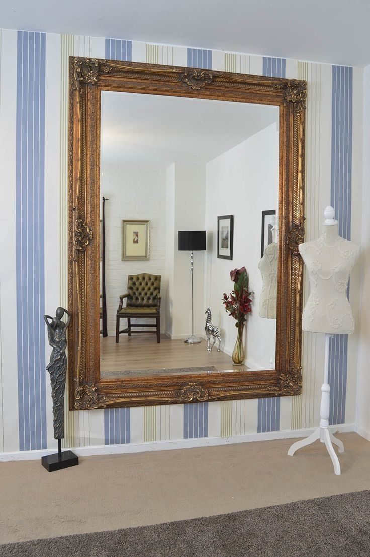100 Ideas To Try About Hall Mirror Wall Mirrors Large Mirrors With Very Large Ornate Mirrors (Image 1 of 15)