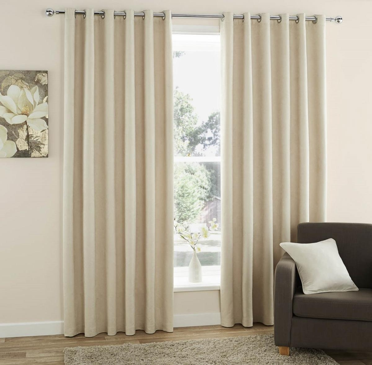 108 Inch Drop Eyelet Curtains Cheap Window Curtains Terrys Fabrics In Long Eyelet Curtains (Image 1 of 15)