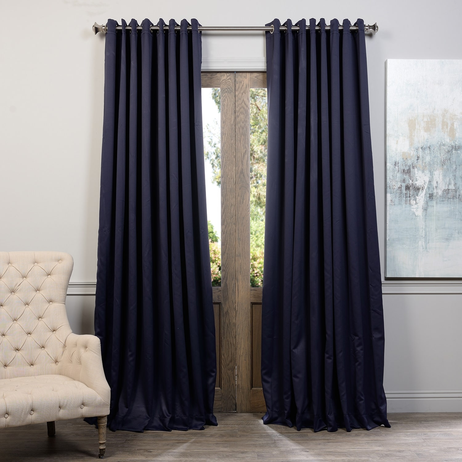 108 Inches Curtains Drapes Shop The Best Brands Overstock In Ready Made Curtains 120 Inch Drop (View 14 of 15)