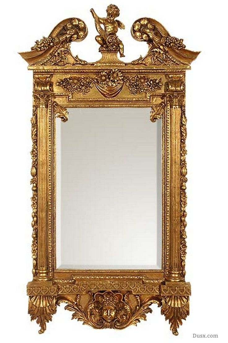 110 Best Images About What Is The Style French Rococo Mirrors On Regarding Rococo Gold Mirror (Image 2 of 15)