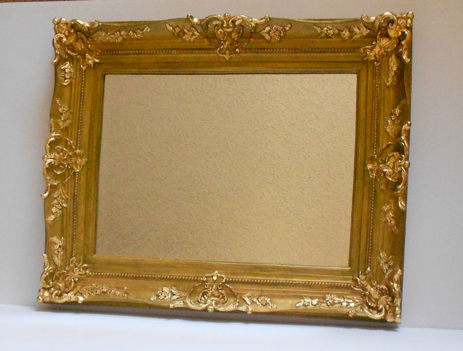 11×15 Mirror Vintage Mirror Decorative Mirror Wall Mirror Regarding Baroque Mirrors (Image 1 of 15)