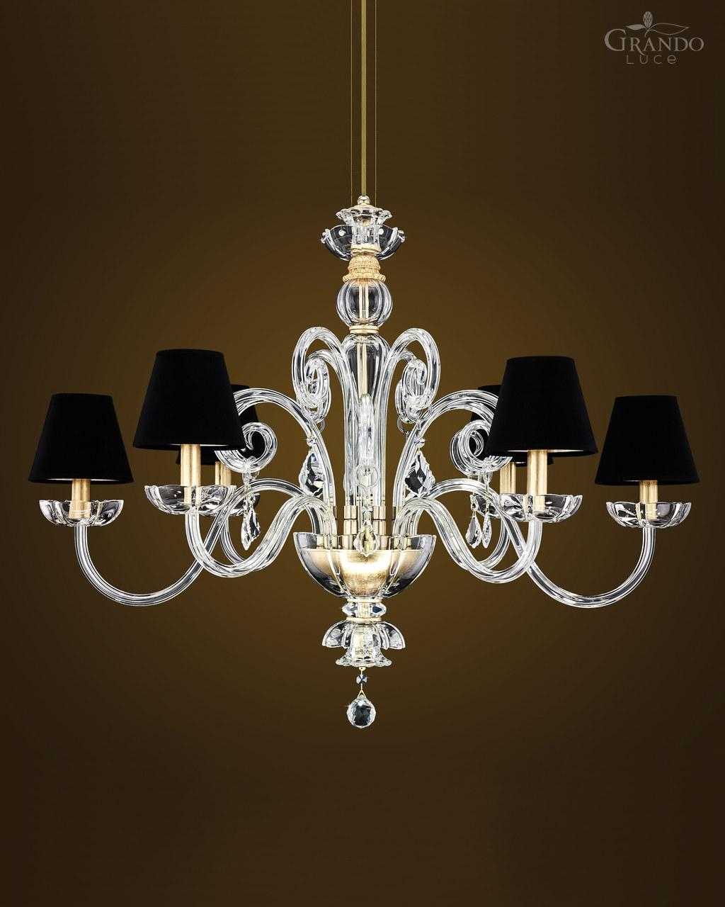 1256 Rl Gold Leaf Crystal Chandelier With Swarovski Elements Within Crystal Gold Chandelier (Image 2 of 15)