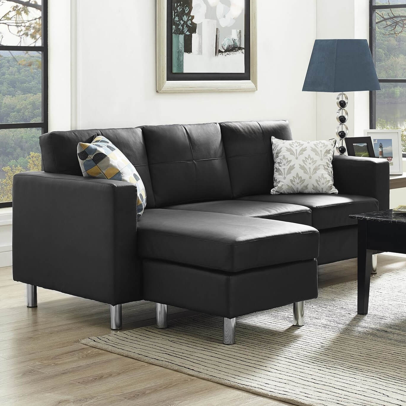 13 Sectional Sofas Under 500 Several Styles In Black Sectional Sofa For Cheap (Image 1 of 15)