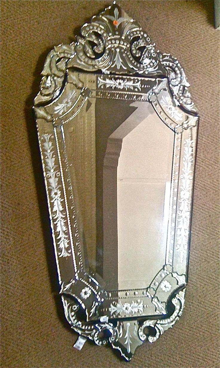 133 Best Images About Venetian Mirrors On Pinterest Mirror Inside Venetian Mirror For Sale (Image 1 of 15)