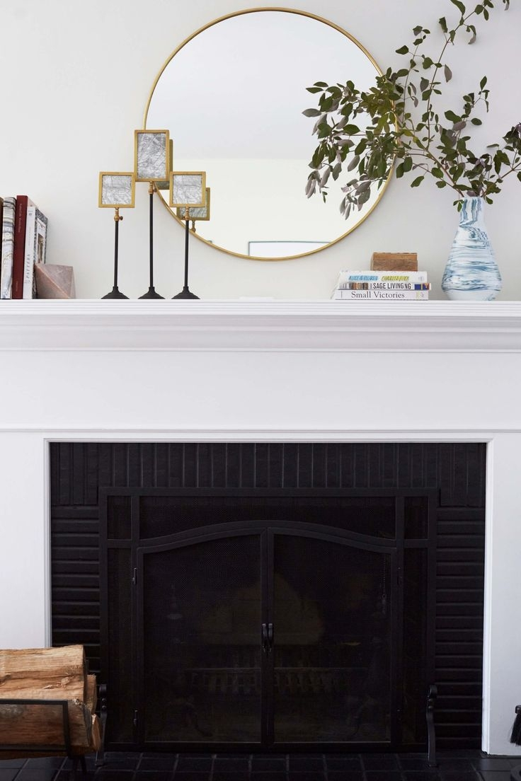 136 Best Images About Mirrors On Pinterest Pertaining To Mirror For Mantle (Image 1 of 15)