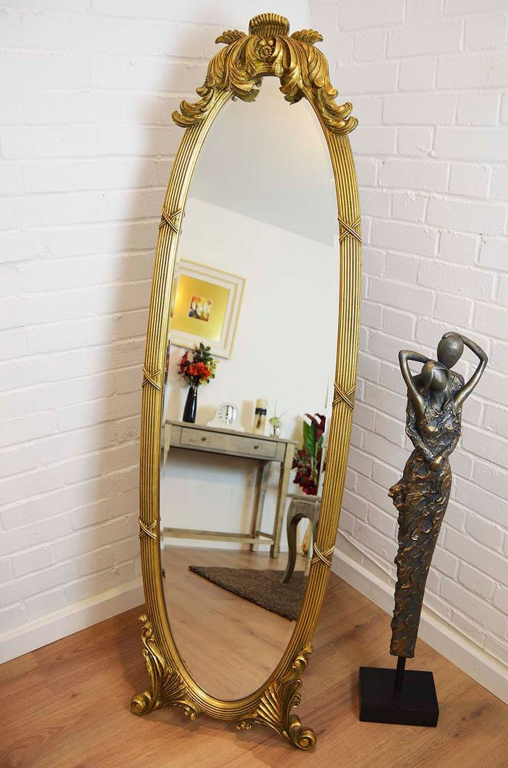 15 Best Images About Chevalfree Standing Mirrors On Pinterest In Free Standing Oval Mirror (Image 1 of 15)