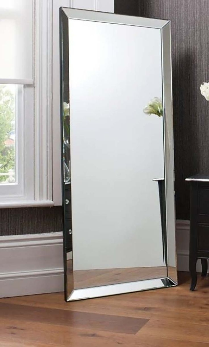 15 Best Images About Chevalfree Standing Mirrors On Pinterest With Regard To Full Length Frameless Mirror (Image 1 of 15)