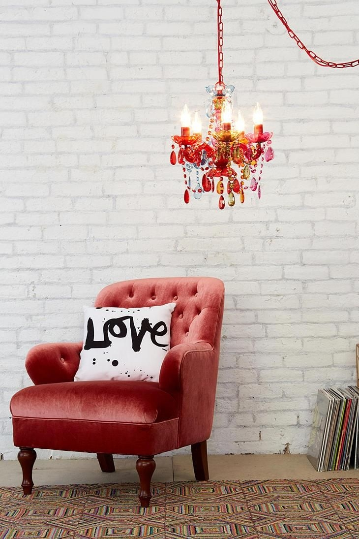 16 Best Images About Lighting On Pinterest Macrame Plugs And With Small Red Chandelier (Image 2 of 15)