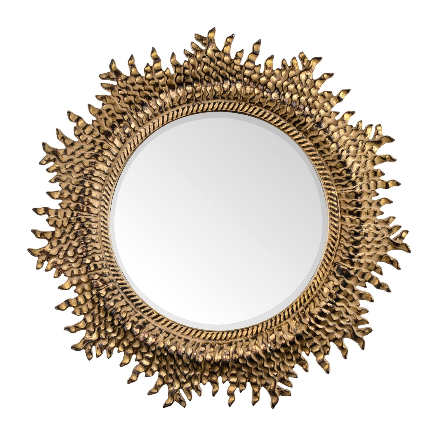 16 Ornate Mirrors For Your Home Qosy Inside Ornate Gold Mirror (Image 1 of 15)