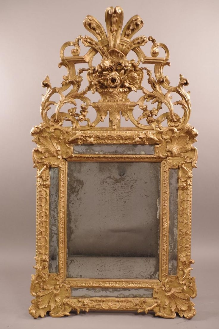 171 Best Images About Vintage Mirrors Antique Mirrors Ornate Pertaining To Vintage Mirror For Sale (View 12 of 15)