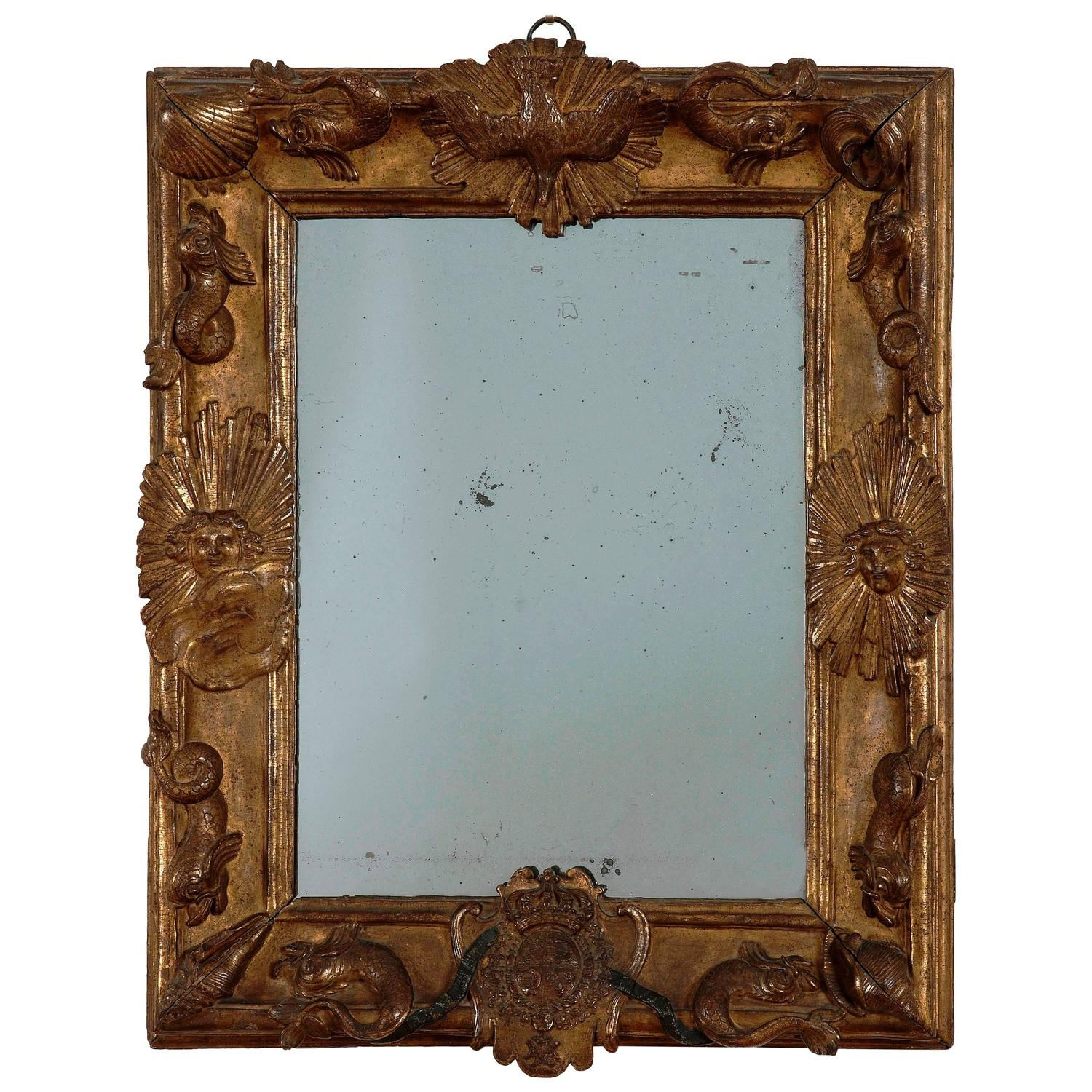 17th Century Mirrors 83 For Sale At 1stdibs In Gilded Mirrors For Sale (Image 1 of 15)