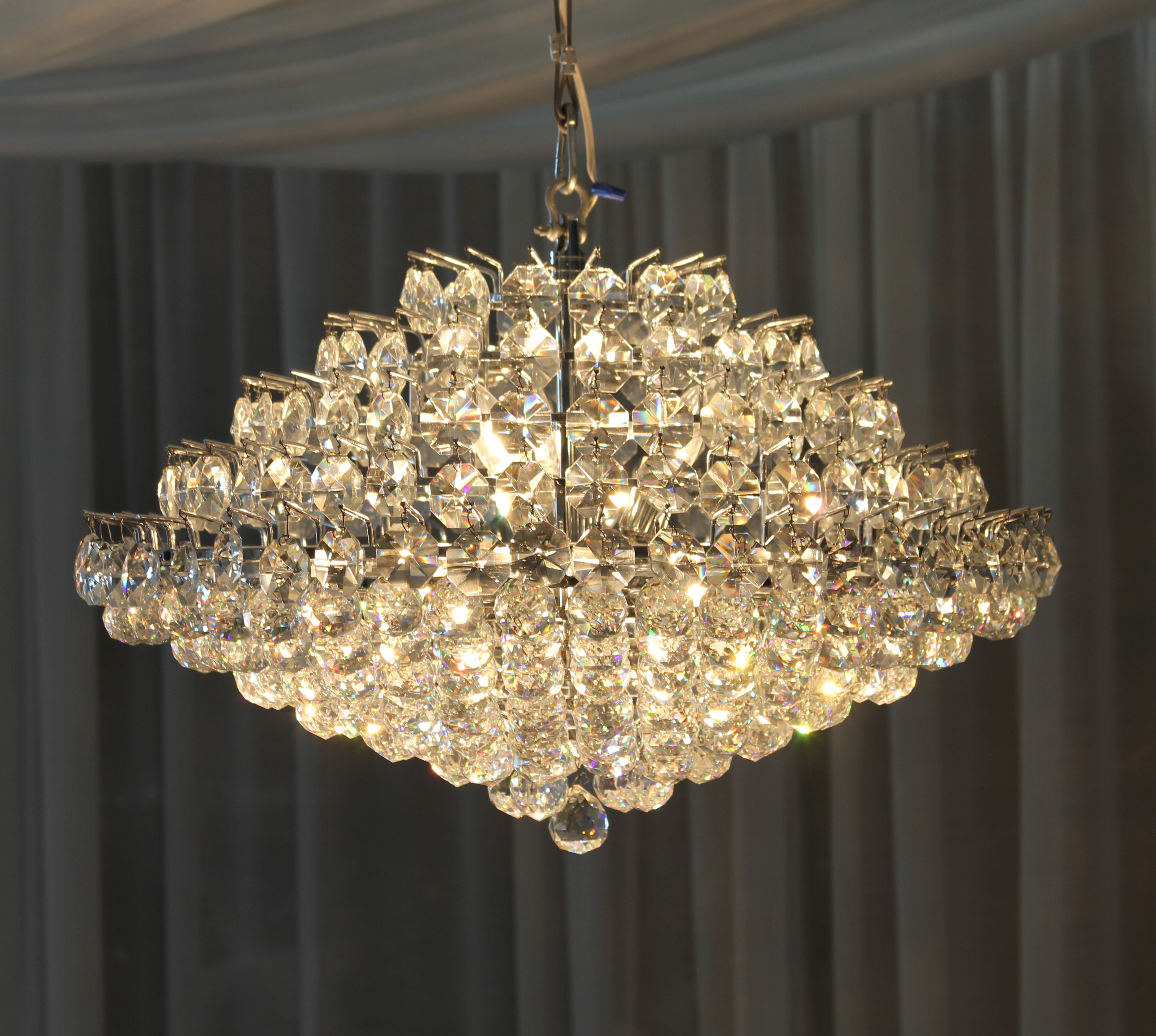 18 Crystal Chandelier Town Country Event Rentals In Crystal Chandeliers (Image 1 of 15)