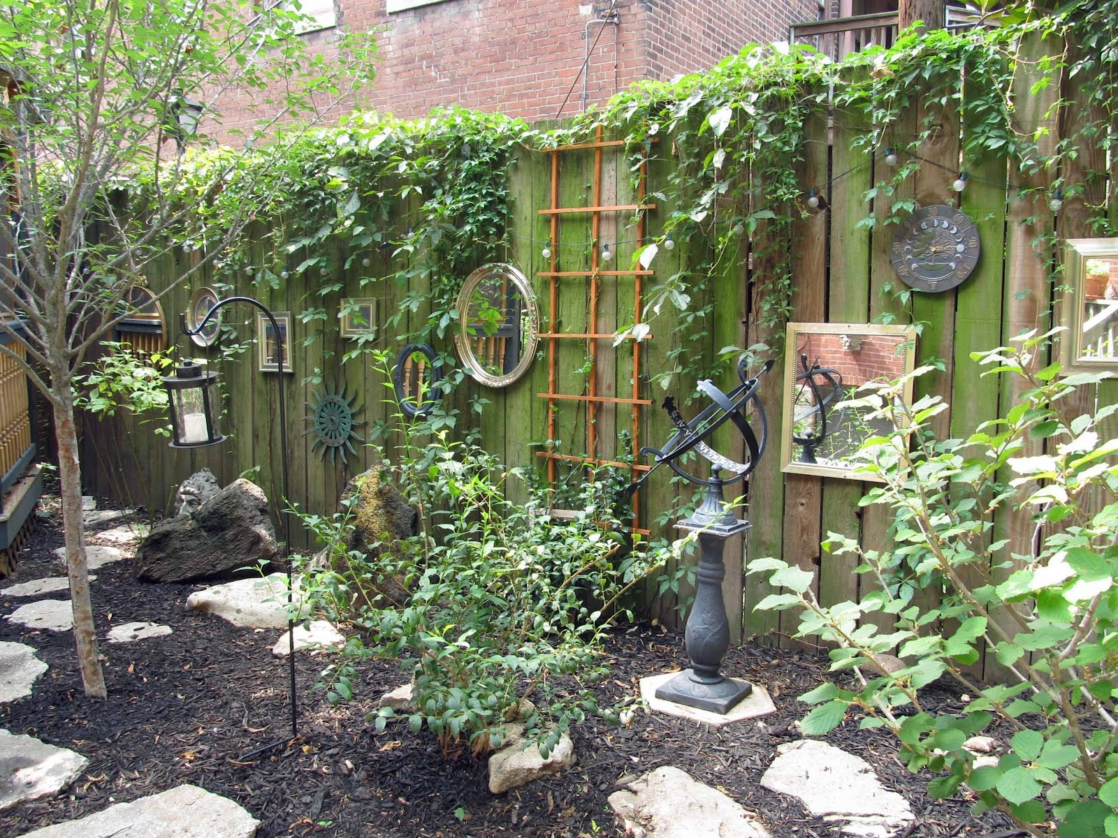 18 Dazzling Mirror Ideas For Your Garden Garden Lovers Club For Garden Wall Mirrors (Image 1 of 15)