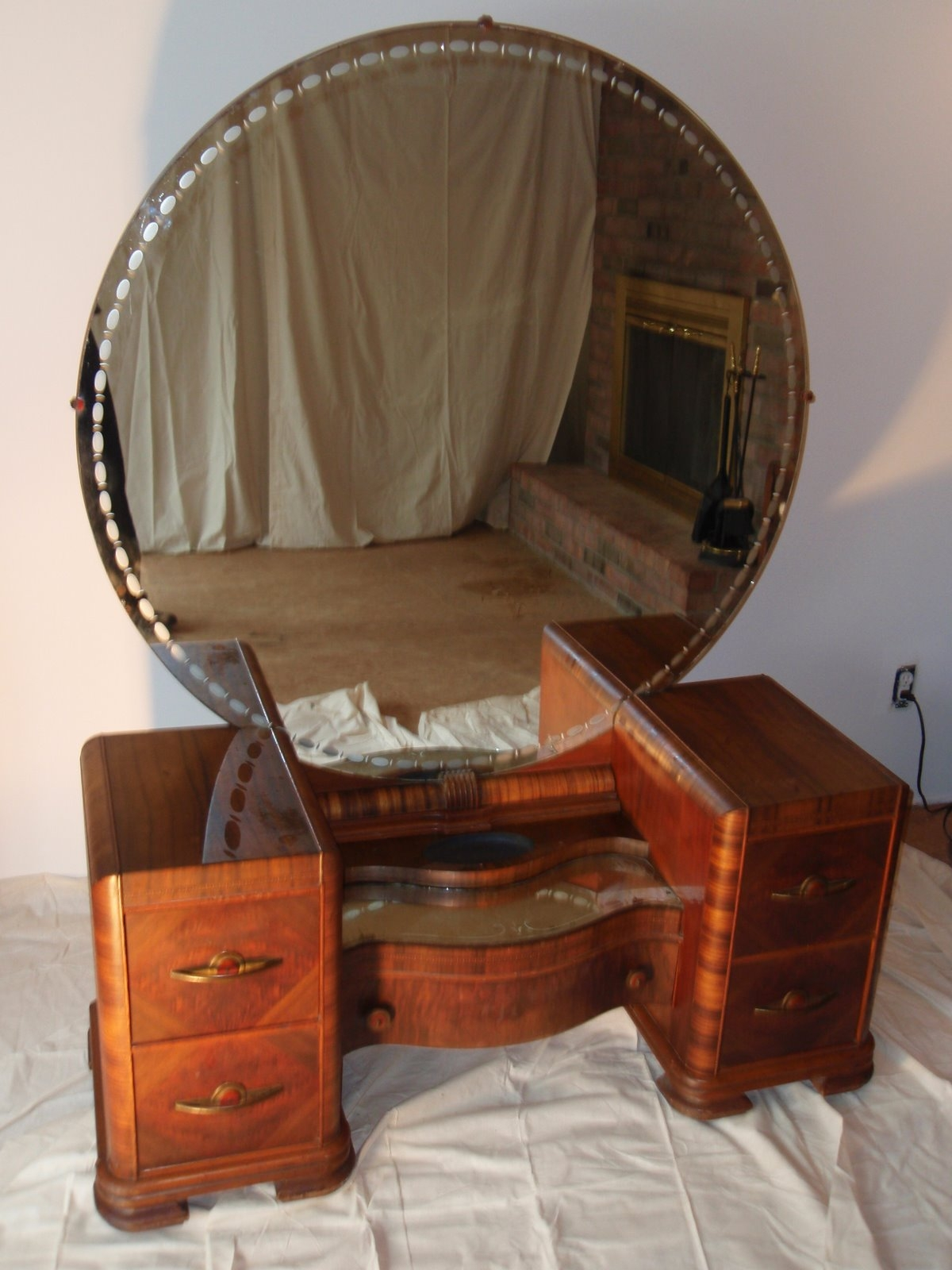 15 Art Deco Mirrored Dressing Table Mirror Ideas
