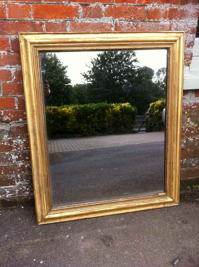 19th Century French Gilt Mirror Antique All Our Antique Mirrors Regarding Gilt Mirrors (Image 1 of 15)