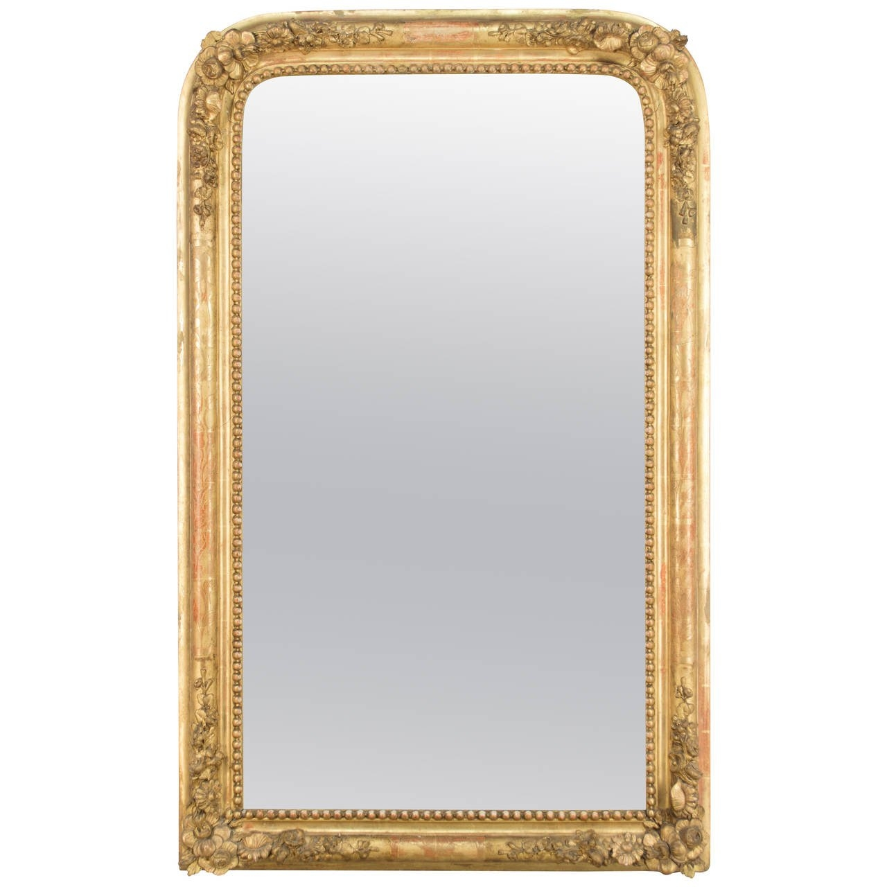 19th Century French Gilt Mirror For Sale At 1stdibs With French Gilt Mirror (Image 2 of 15)