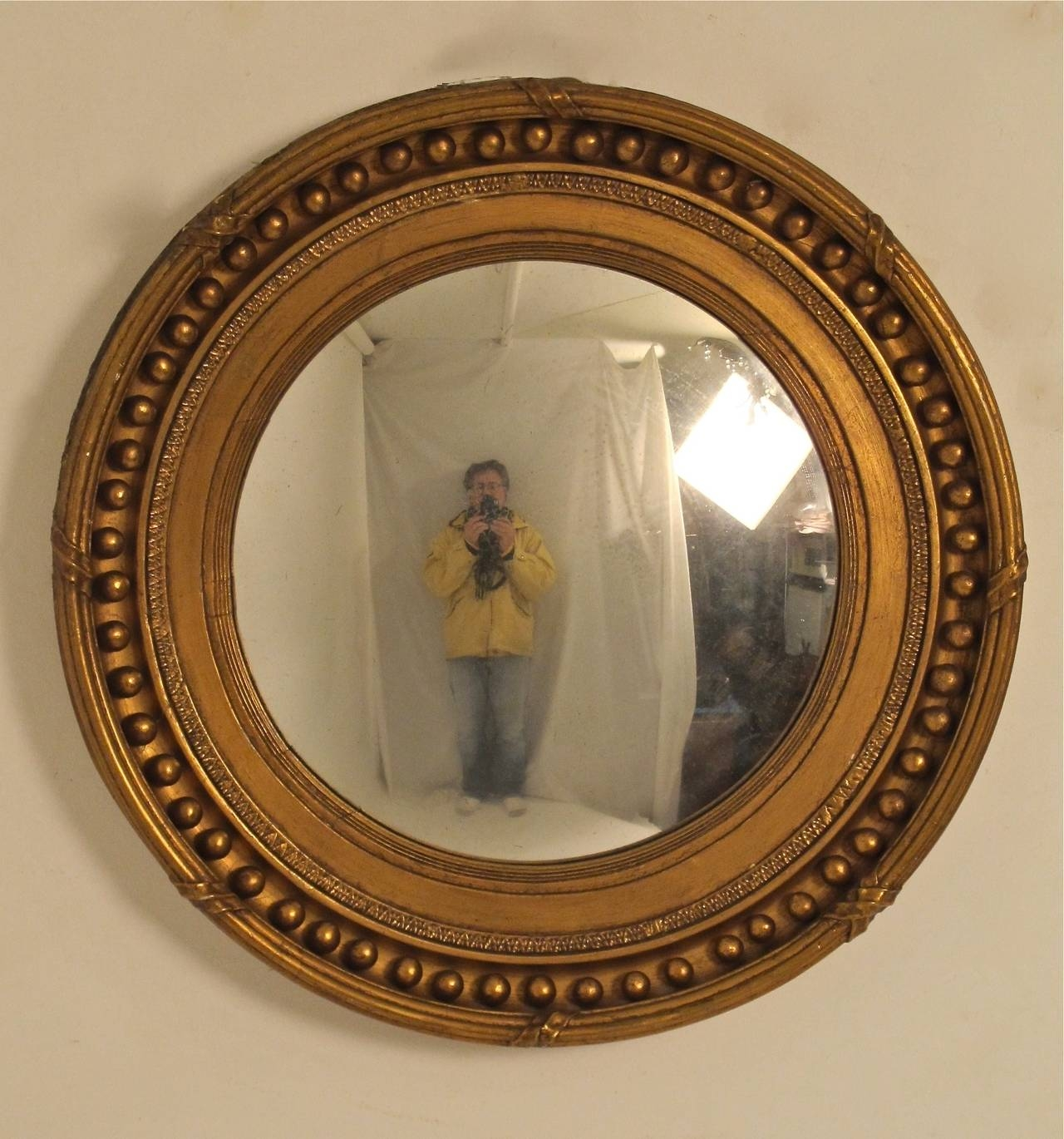 19th Century Regency Style Convex Mirror At 1stdibs Within Decorative Convex Mirrors (Image 1 of 15)
