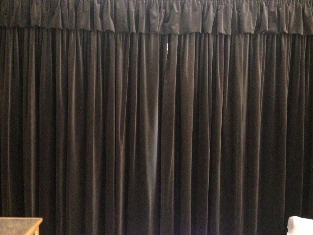 2 Pairs Of Dark Brown Velvet Curtains In Whitchurch Bristol Regarding Dark Brown Velvet Curtains (Image 1 of 15)